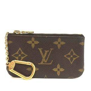 Louis Vuitton Monogram Pochette Wallet/Key Case